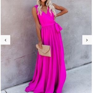 VICI Fuchsia Diana Dress S